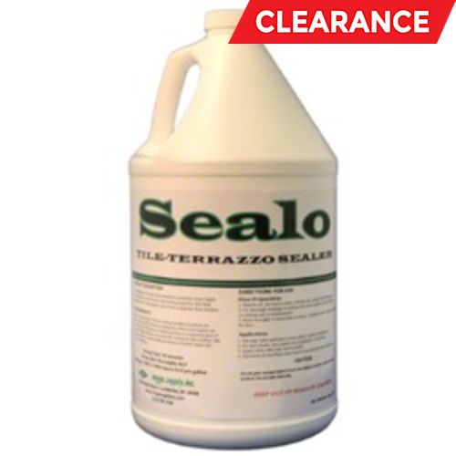 Sealo Tile, floor polish, Odorless and Nonflammable, 1 Gallon, 4 per Case