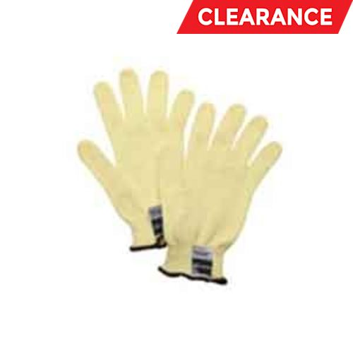 Gloves Cut Resistant Ladies Kevlar Yellow 7Ga Resists: Abrasion