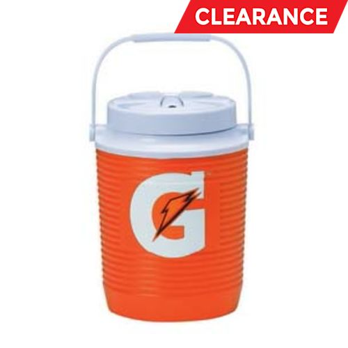 Cooler, Orange, 1 Gal.