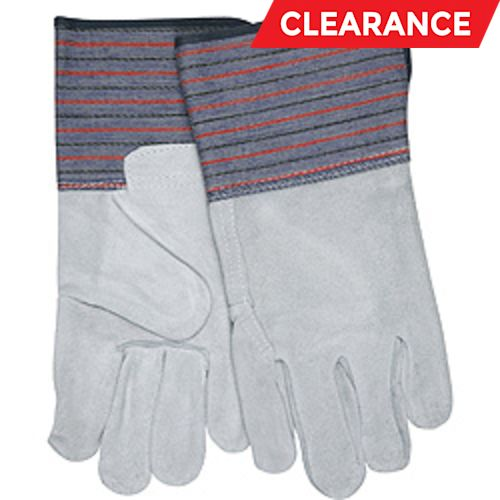 """Select """"B"""" Leather Palm Gloves"""