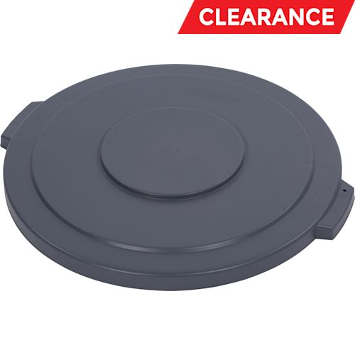 LID,FLAT ROUND GRAY 44 GALLON