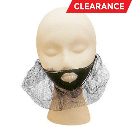 BEARDNET,NYLON BROWN