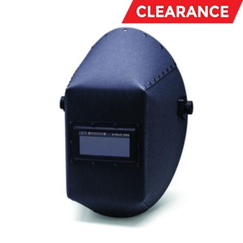 W20 411P Fiber Shell Welding Helmet: 411P, 2 X 4.25