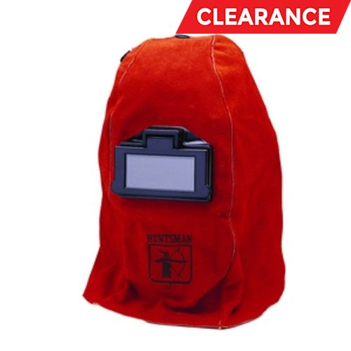 W20 860P Leather Welding Helmet: 860P, 2 X 4.25, Lift Front