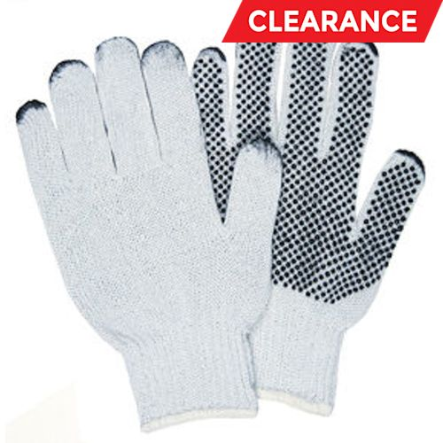 PVC-Coated String Knit Gloves