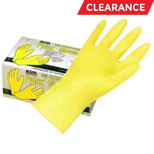 PYLOX V-5 Vinyl Chemical-Resistant Gloves