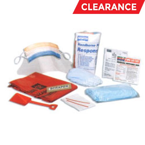 Vital 1 Refill Core Pack, For Use With Blood Borne Pathogen Response Kit