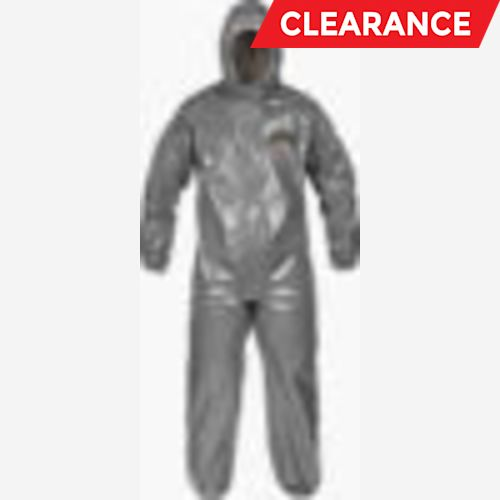 ChemMAX 3 coveralls w/ hood, elastic face, wrists & ankles