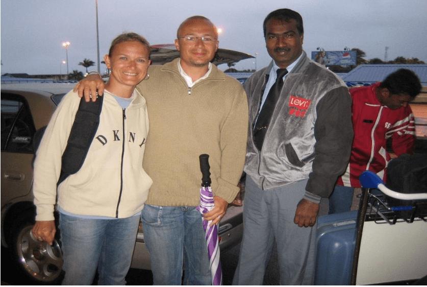 Driver in Mauritius: Ajay Jirjadhan