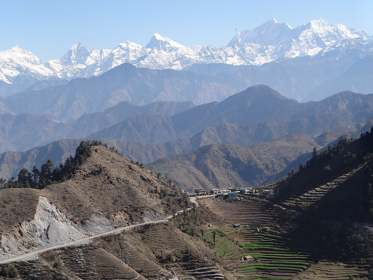 Hire a car and driver in Baitadi