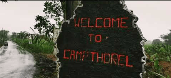 Hire a car and driver in Camp Thorel