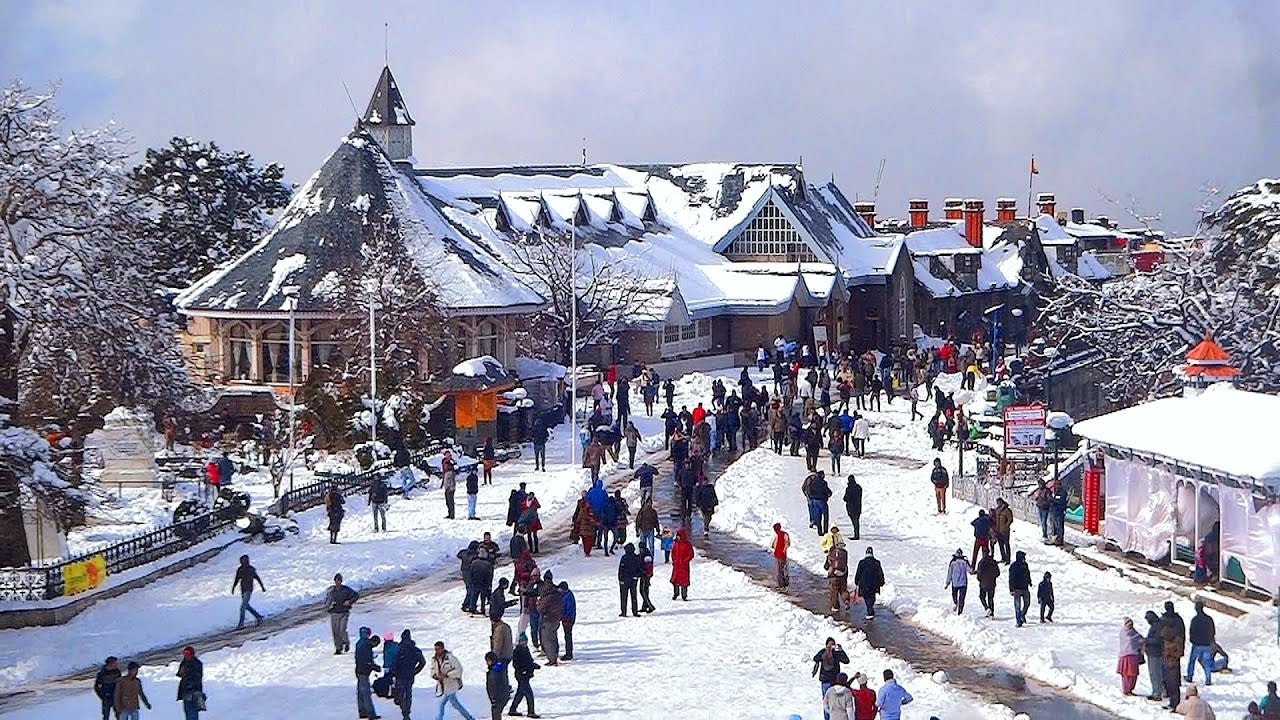 Hire a car and driver in Shimla