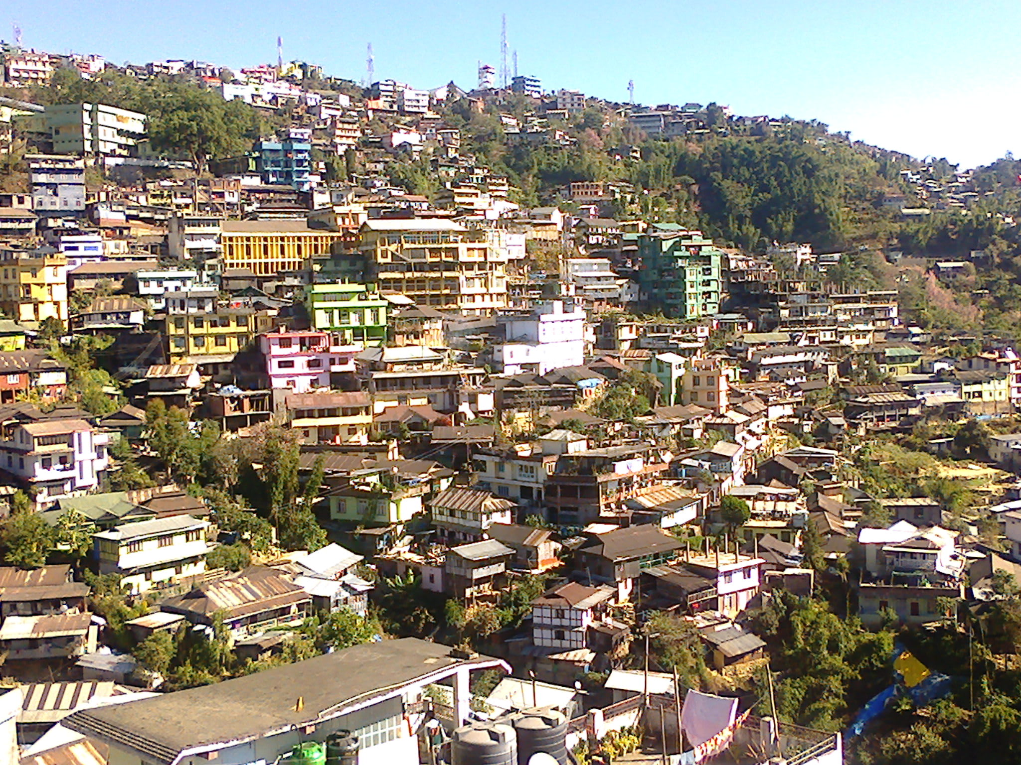 Hire a car and driver in Kohima