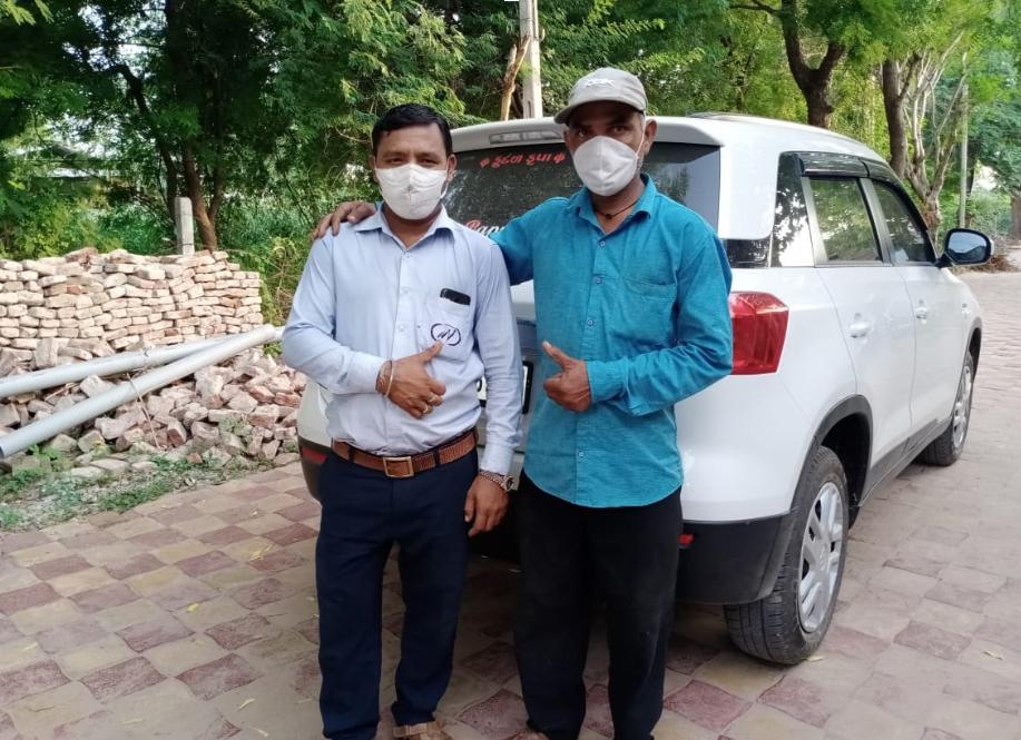 Driver in Gujarat: Rakesh Thakor