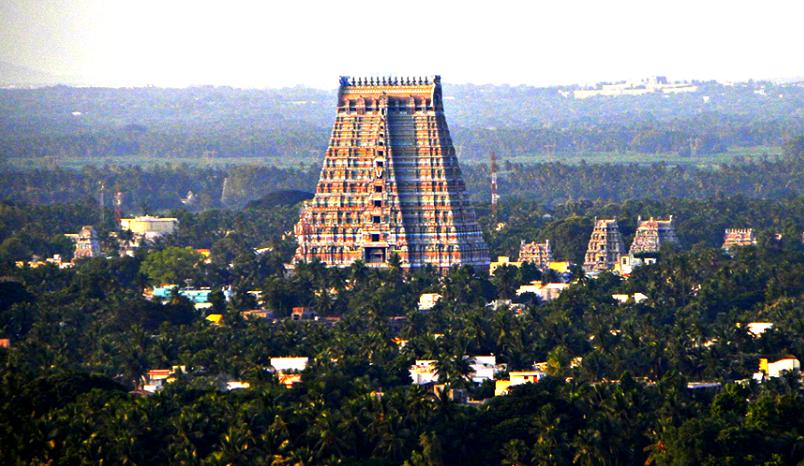 Hire a car and driver in Srirangam