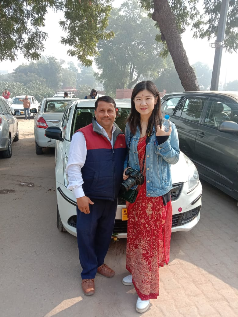 Driver in Delhi: Manohal Lal