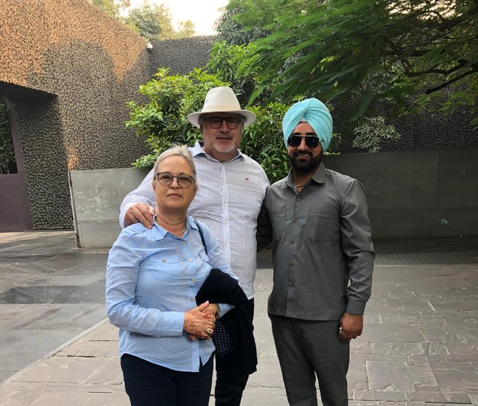 Driver in Delhi: Sukhwinder Singh