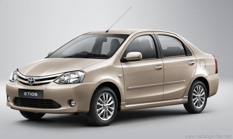 Toyota Etios: the perfect car for quick trips in India
