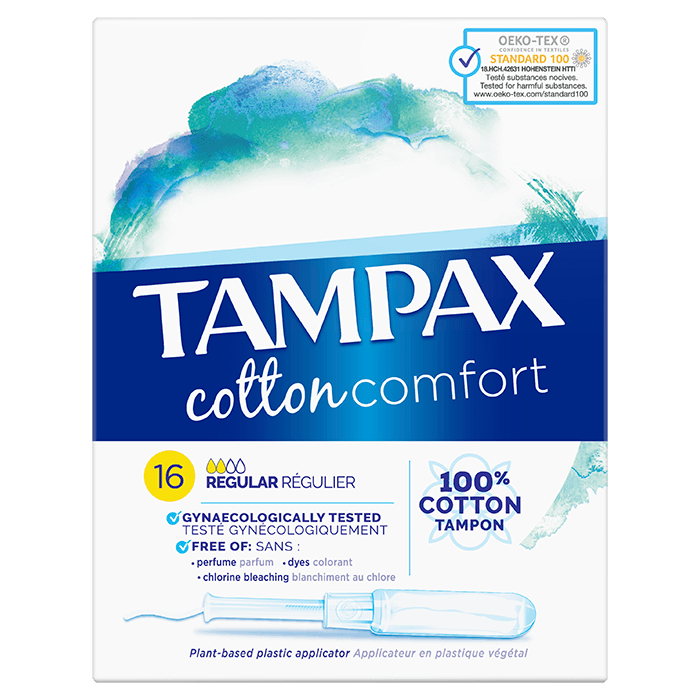 Tampony Tampax Cotton Protection Regular
