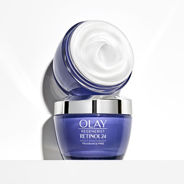 Olay Retinol 24 Night Face Cream | Fragrance Free, 50ml