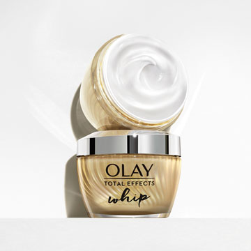 Olay Total Effects Whip Light as Air Moisturiser, 50ml - SI1