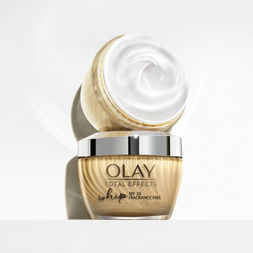 Olay Total Effects Whip Light Moisturiser with SPF 30 - SI1