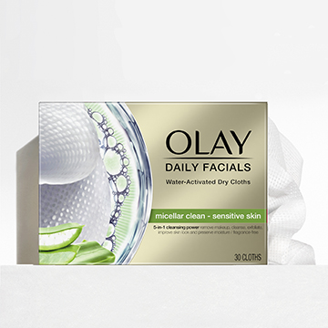 Daily Facials Dry Face Cloths For Sensitive Skin - SI1