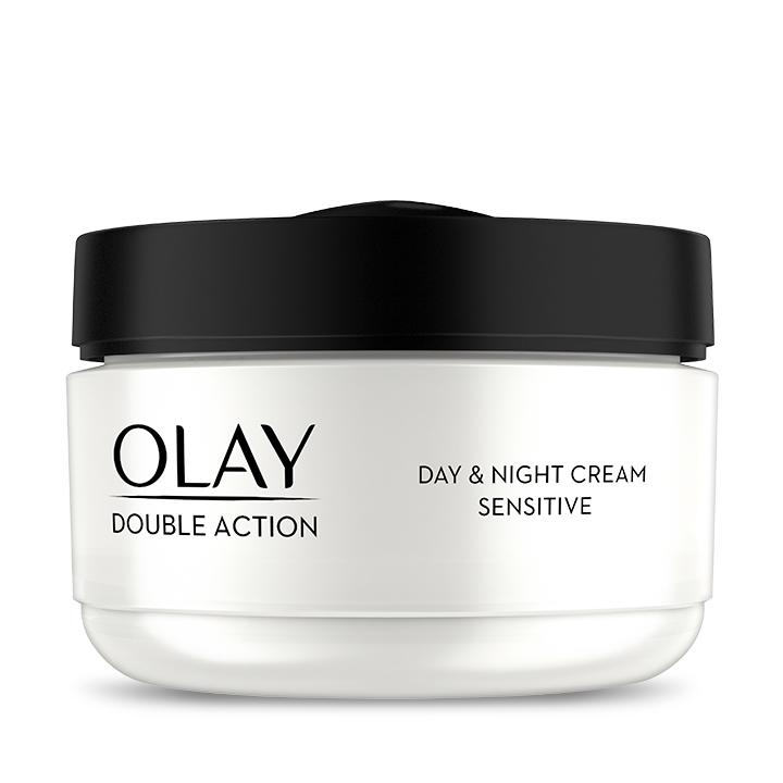 Olay Double Action Moisturiser Day Cream & Primer sensitive 50 ml - SI1