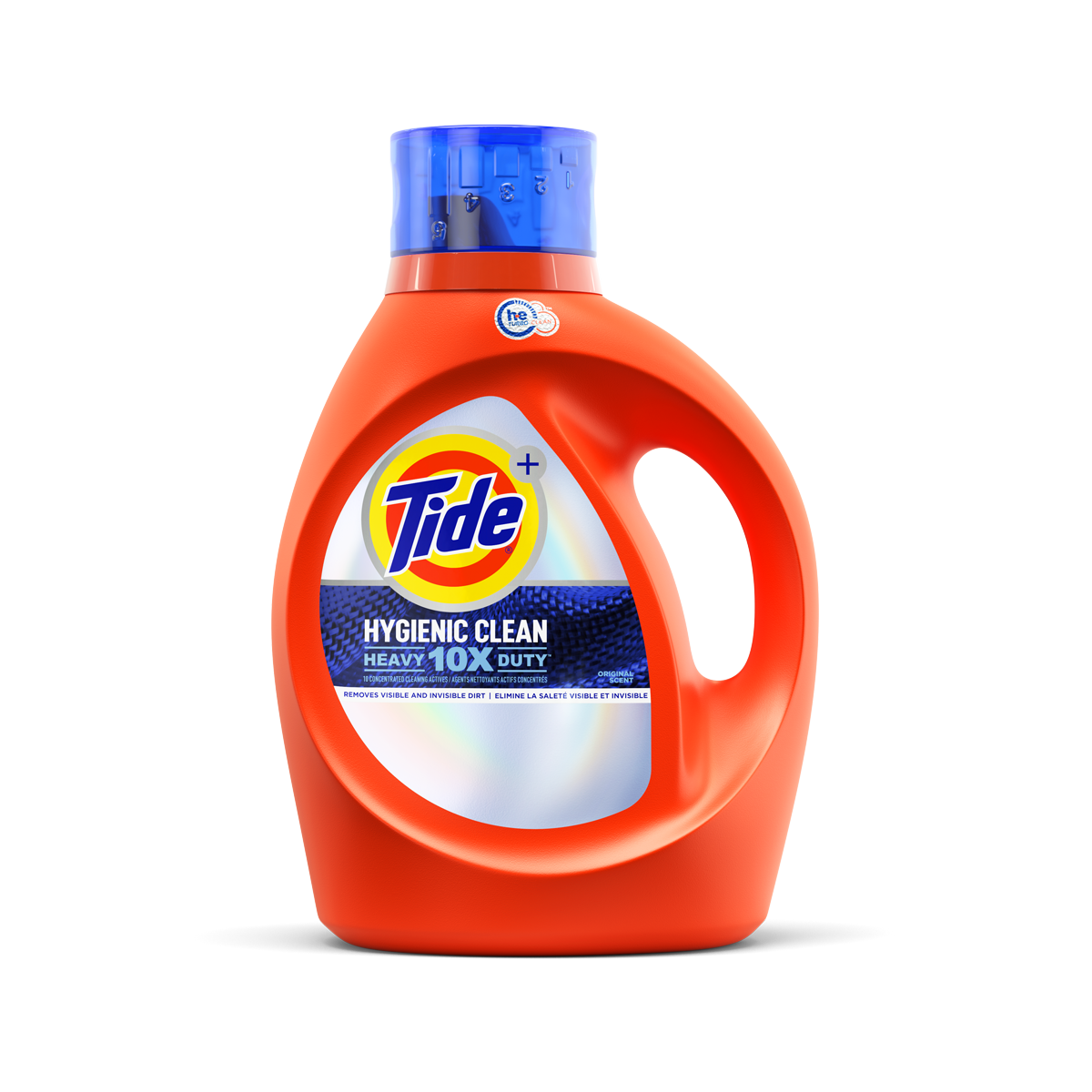 Tide Hygienic Clean Heavy Duty 10x Liquid Detergent Original Scent