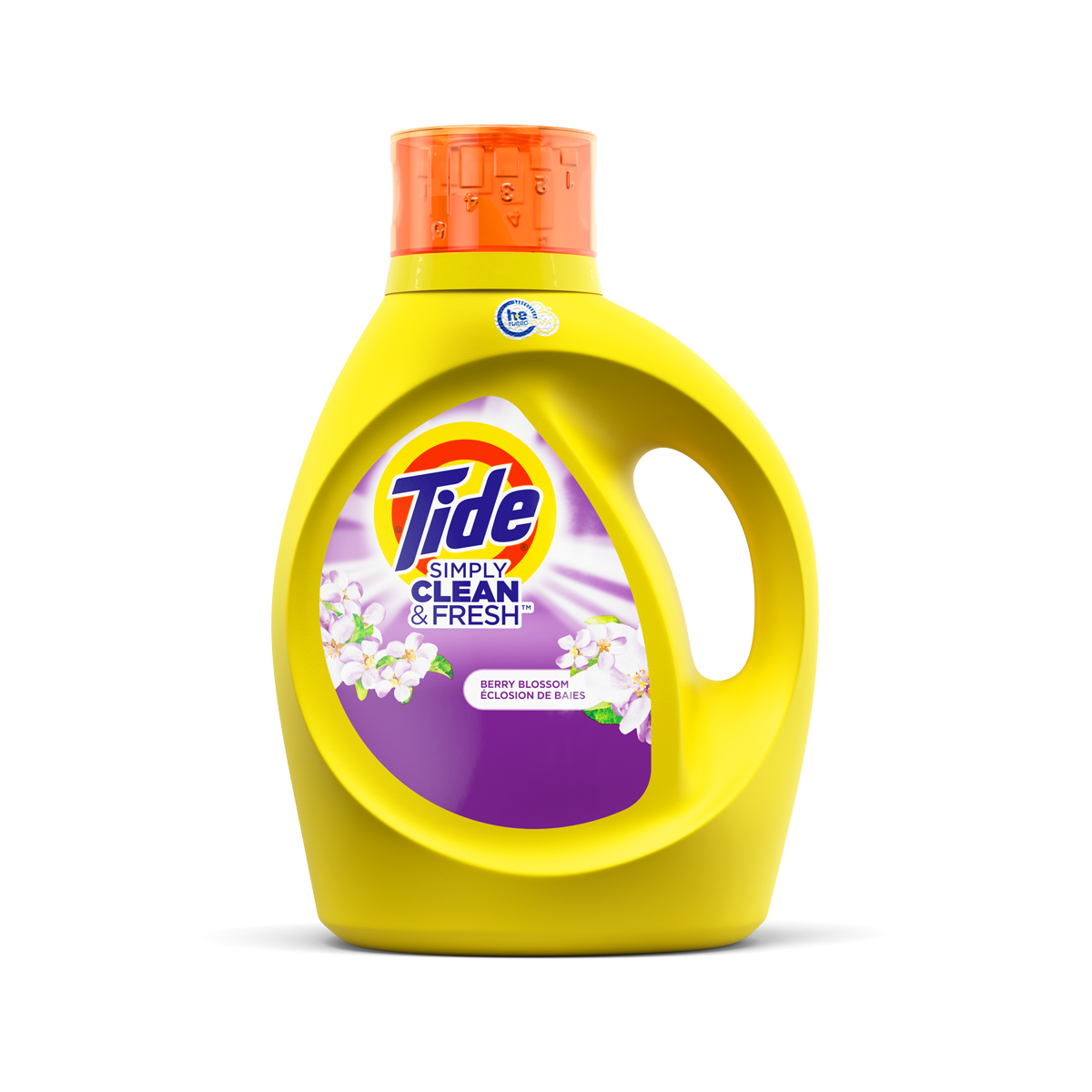 Tide Simply Clean and Fresh Liquid Laundry Detergent Berry Blossom