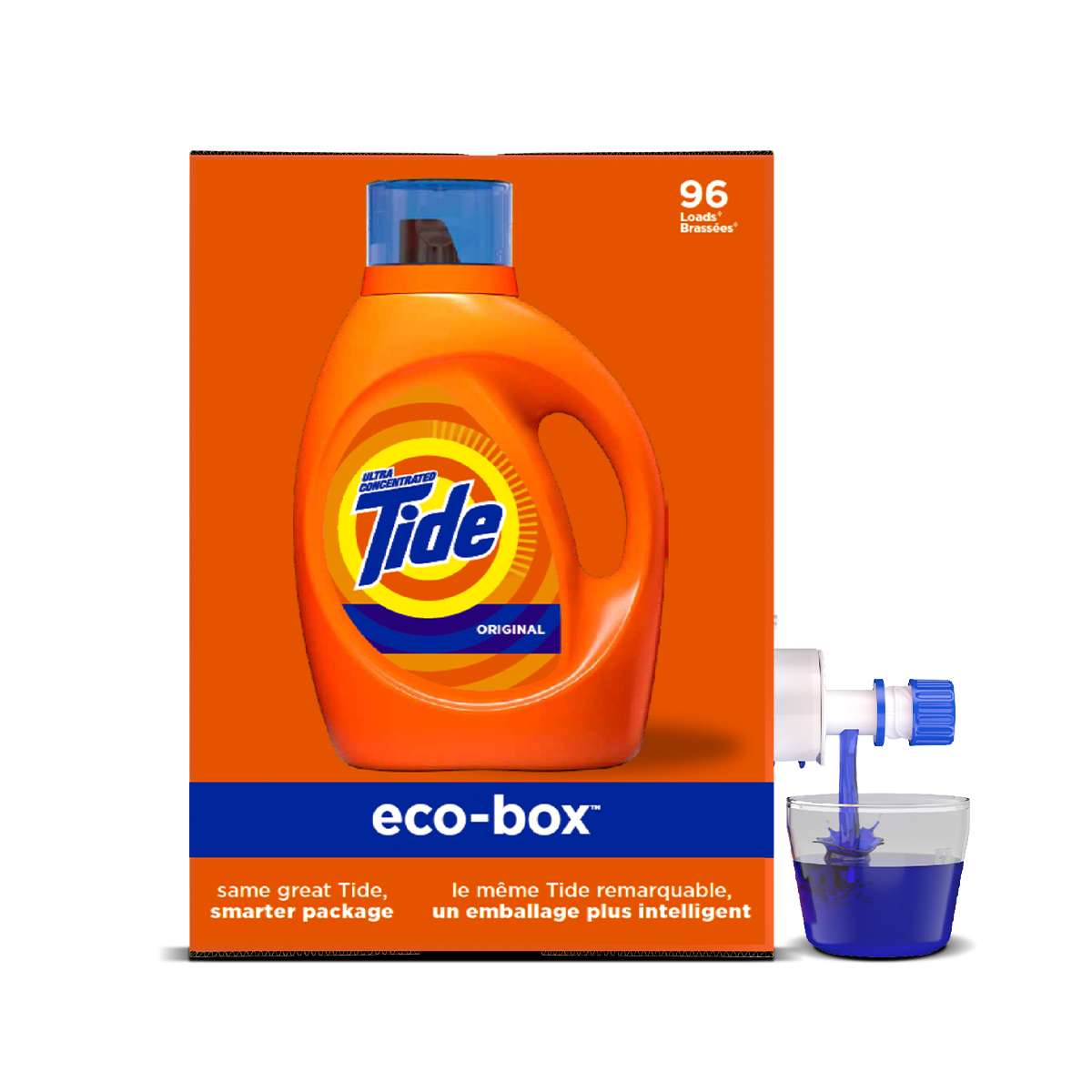 Tide Eco-Box Liquid Laundry Detergent