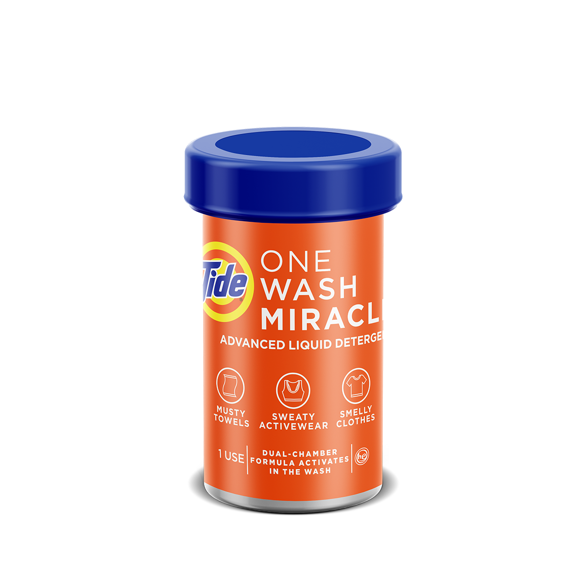 TideOne Wash Miracle- Powerful Deep-Cleaning Laundry Solution