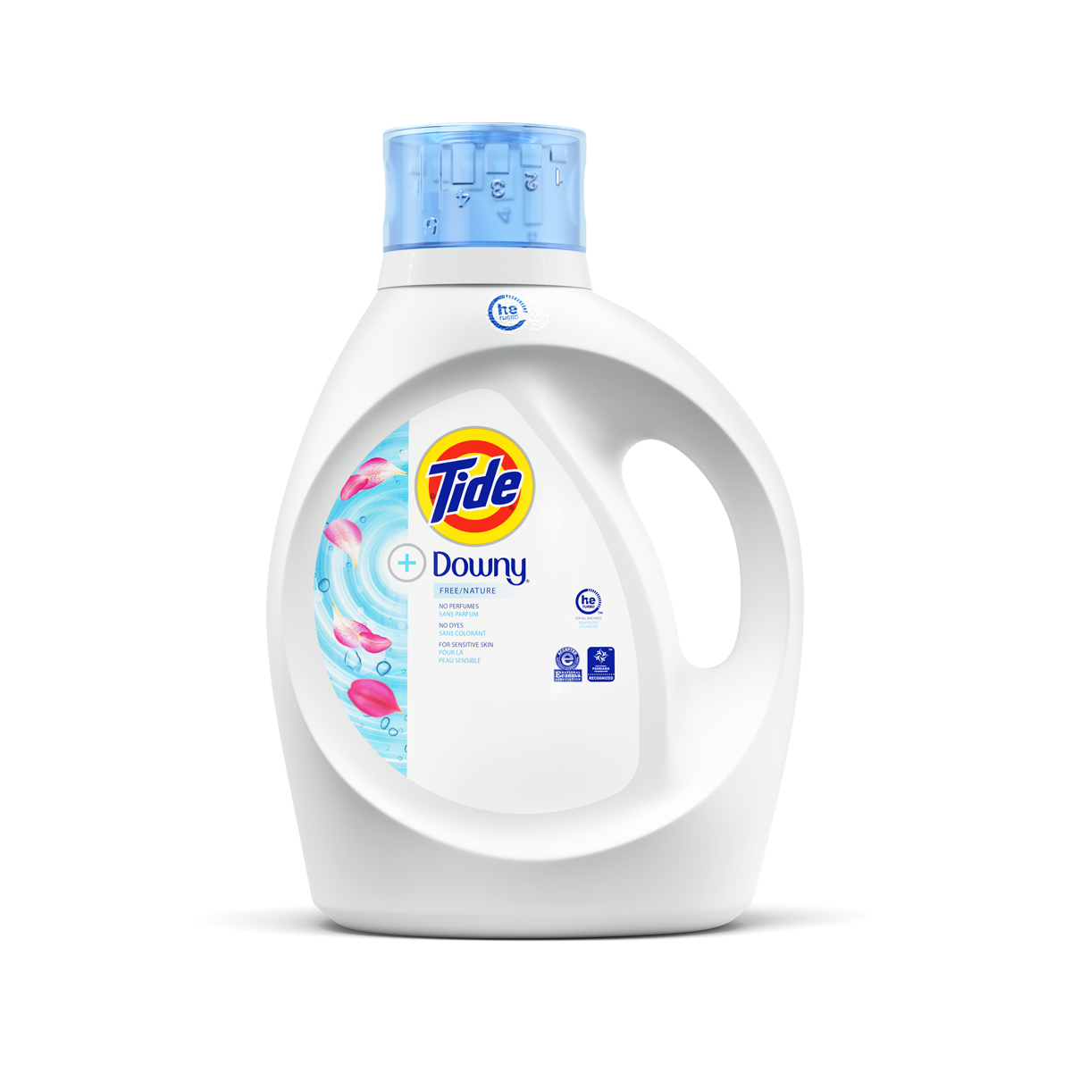 Tide Plus Downy Free Liquid Laundry Detergent