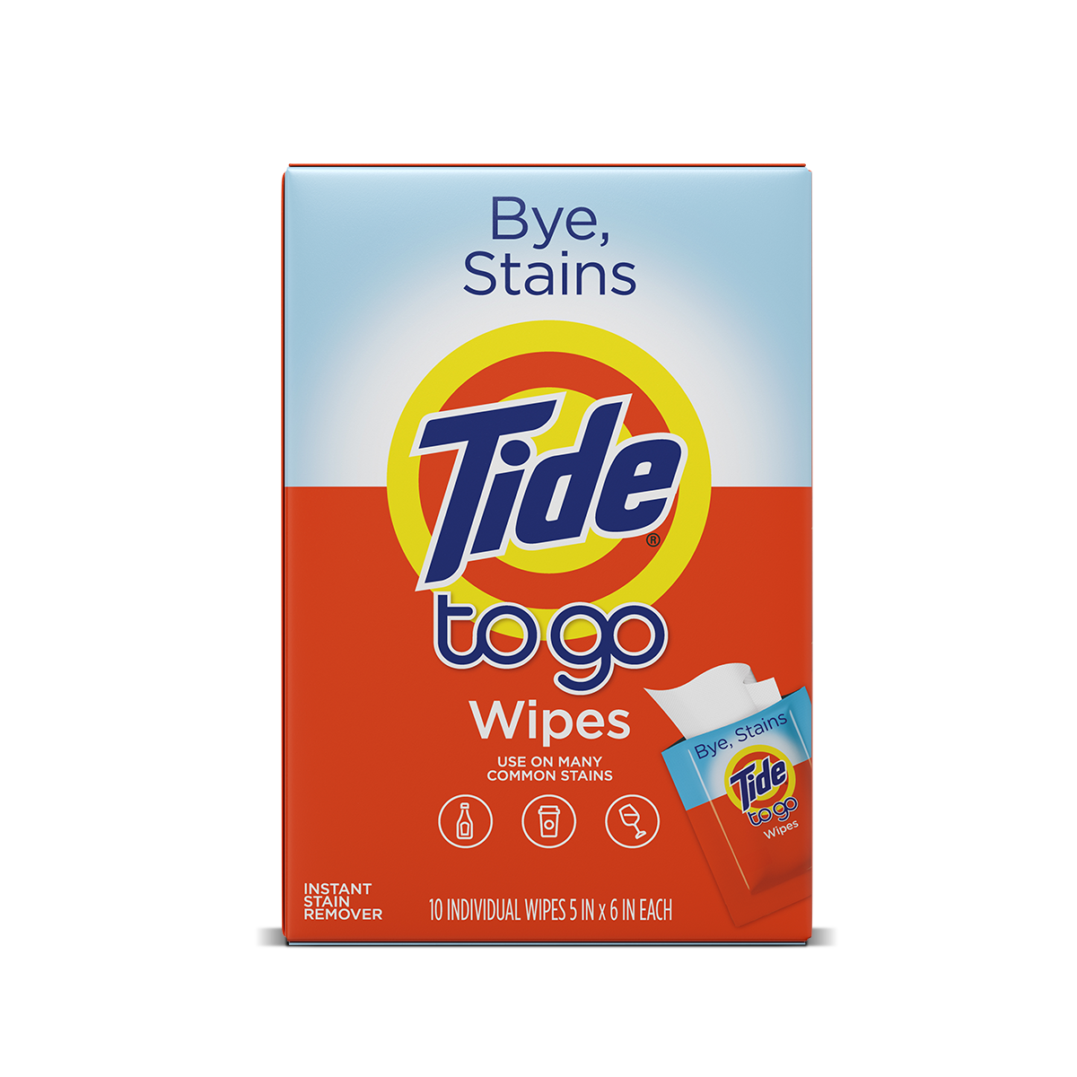 Tide To Go Wipes
