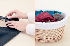 How to Separate Laundry - Step  2