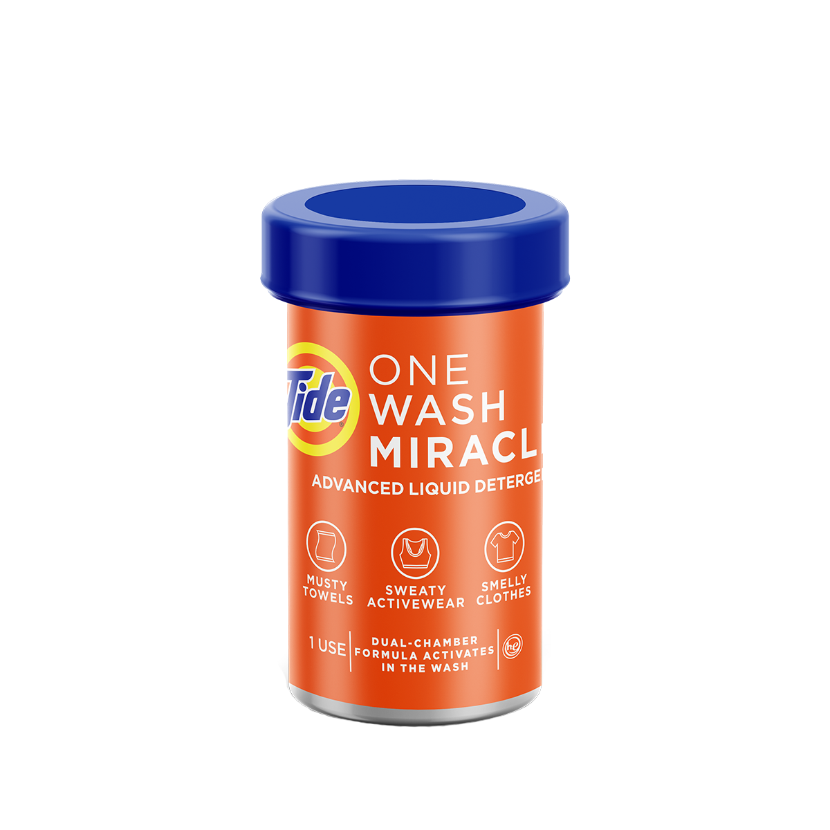 Tide One Wash Miracle Advanced Laundry Detergent
