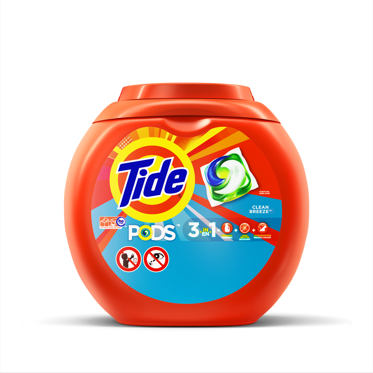 Tide PODS® Laundry Detergent Clean Breeze Scent