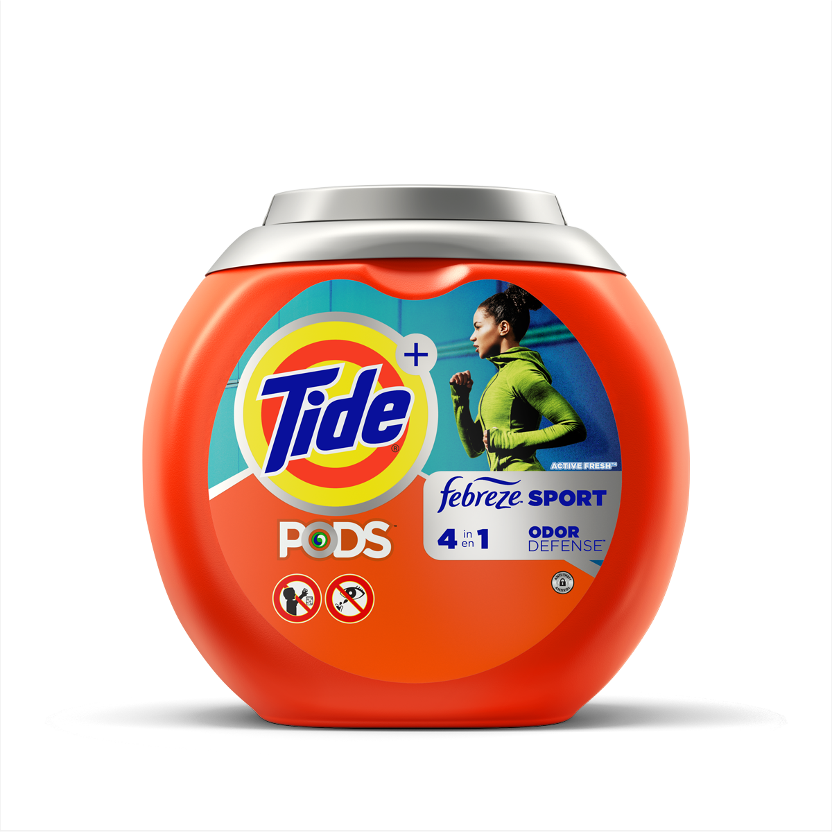 Tide PODS® Plus Febreze Odor Defense™