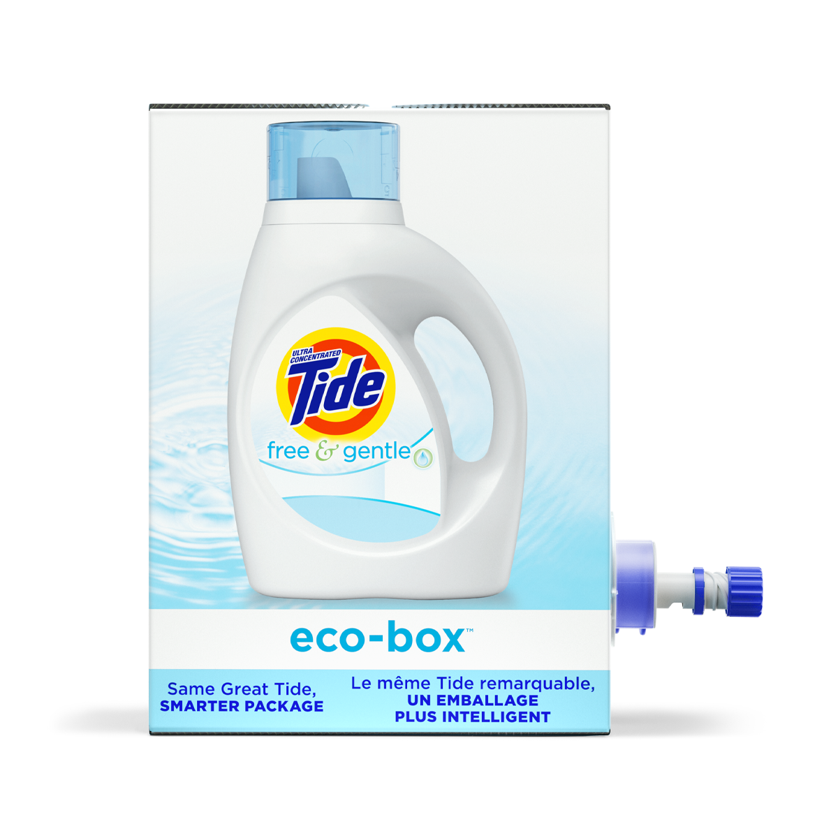 Tide Eco-Box Free & Gentle Liquid Laundry Detergent