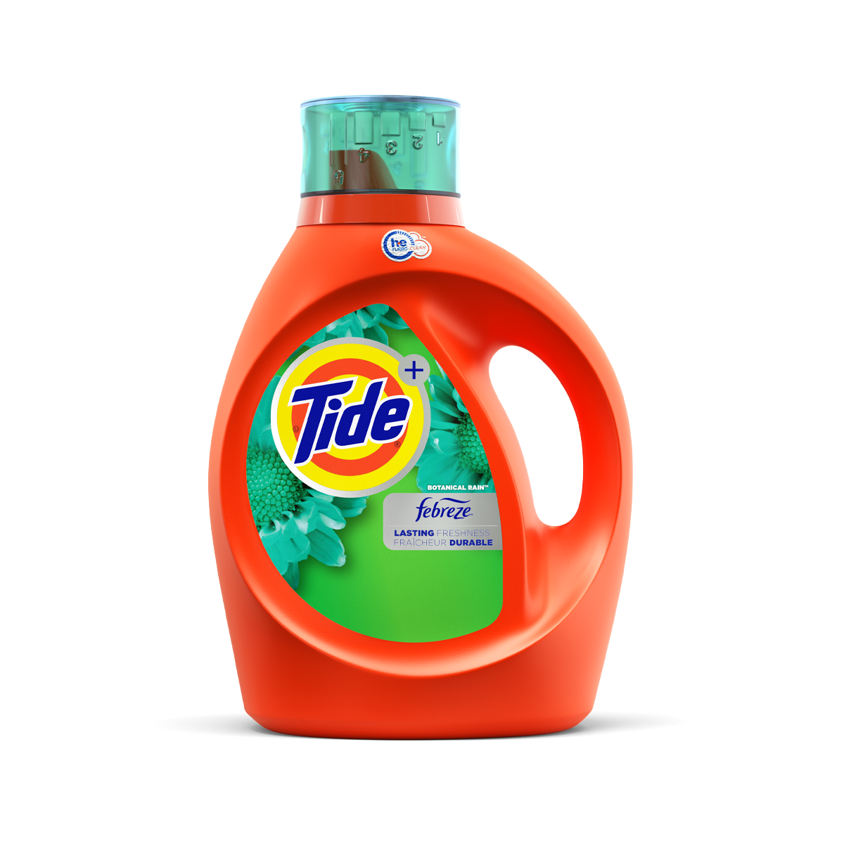 Tide Plus Febreze Botanical Rain High Efficiency Liquid