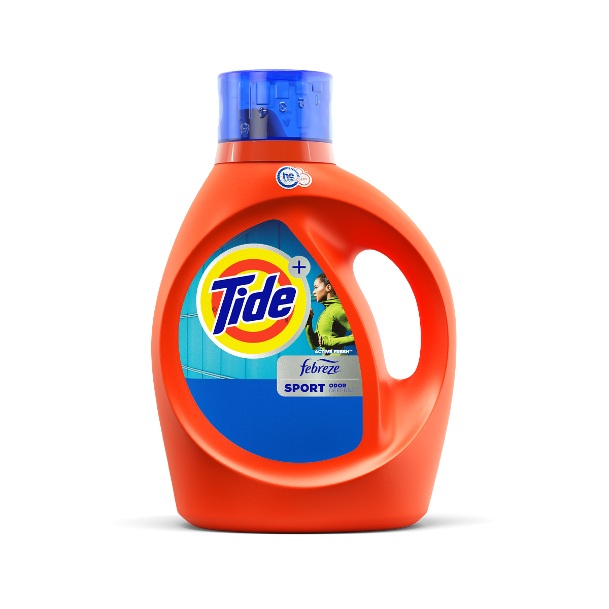 Tide Plus Febreze Sport Odor Defense Liquid Laundry Detergent
