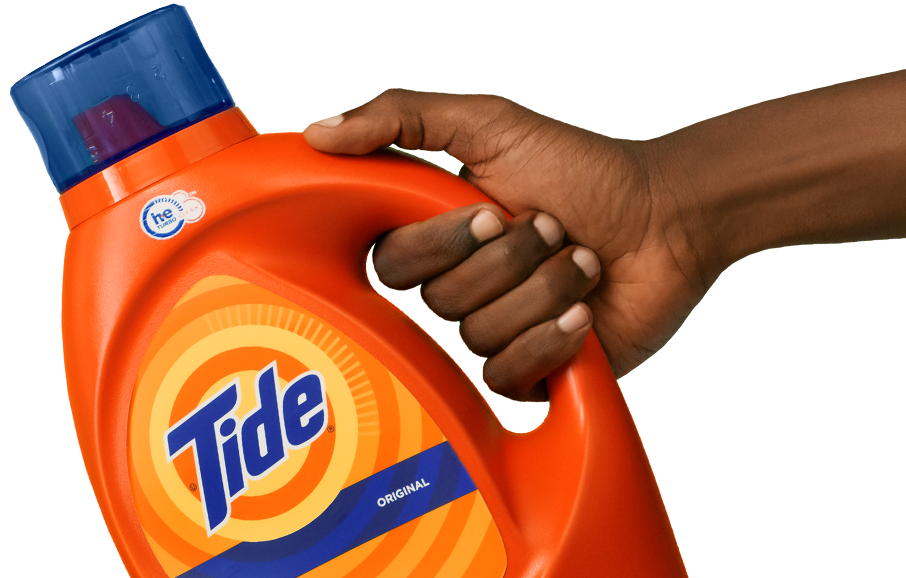Hand with tide
