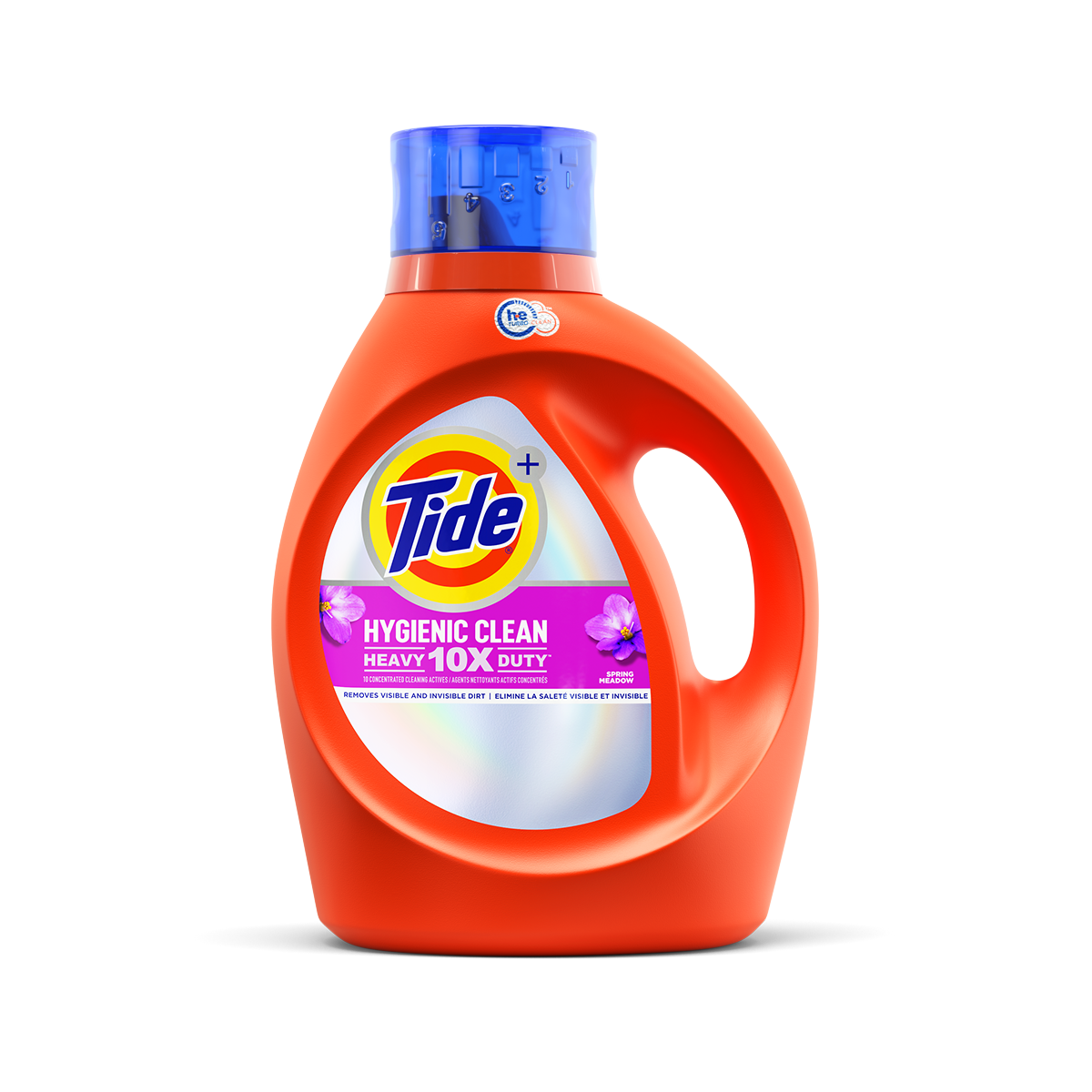 Tide Hygienic Clean Heavy Duty 10X Liquid Spring Meadow Scent