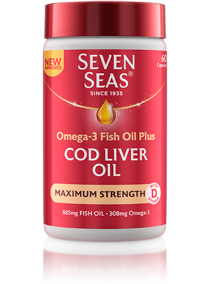 Cod Liver Oil Maximum Strength