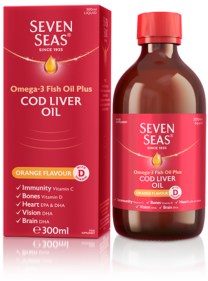 Cod Liver Oil Orange Syrup 300ml