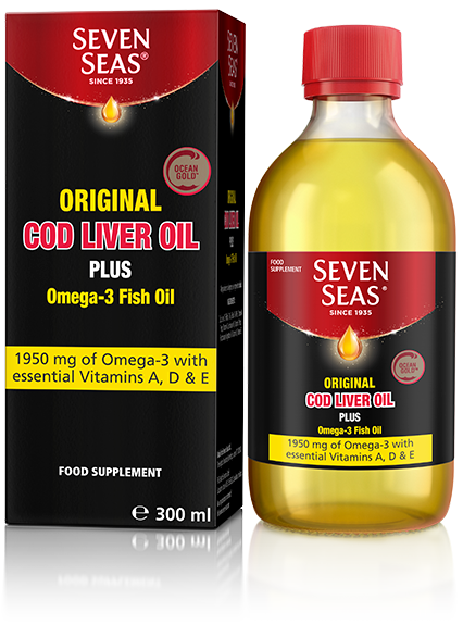 Cod Liver Oil Original Liquid