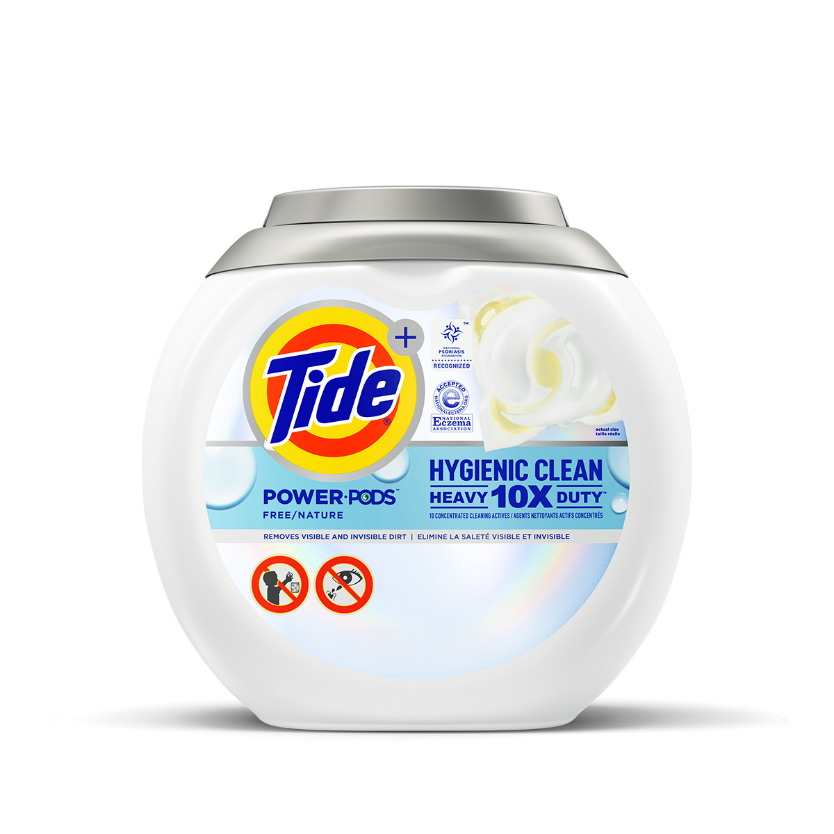 Tide Hygienic Clean Heavy Duty 10X Free Power PODS®
