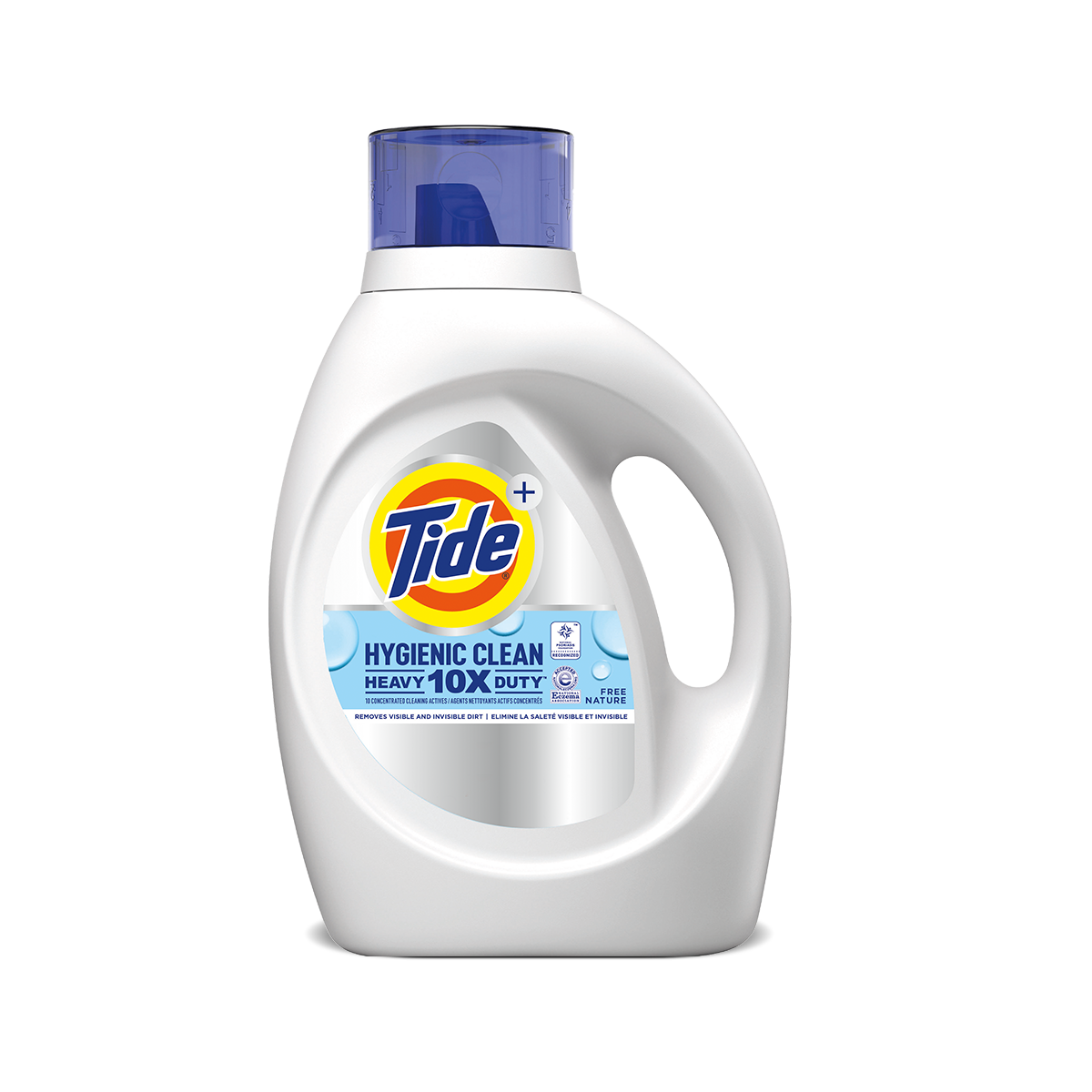 Tide Hygienic Clean Heavy Duty 10X Free Liquid Laundry Detergent
