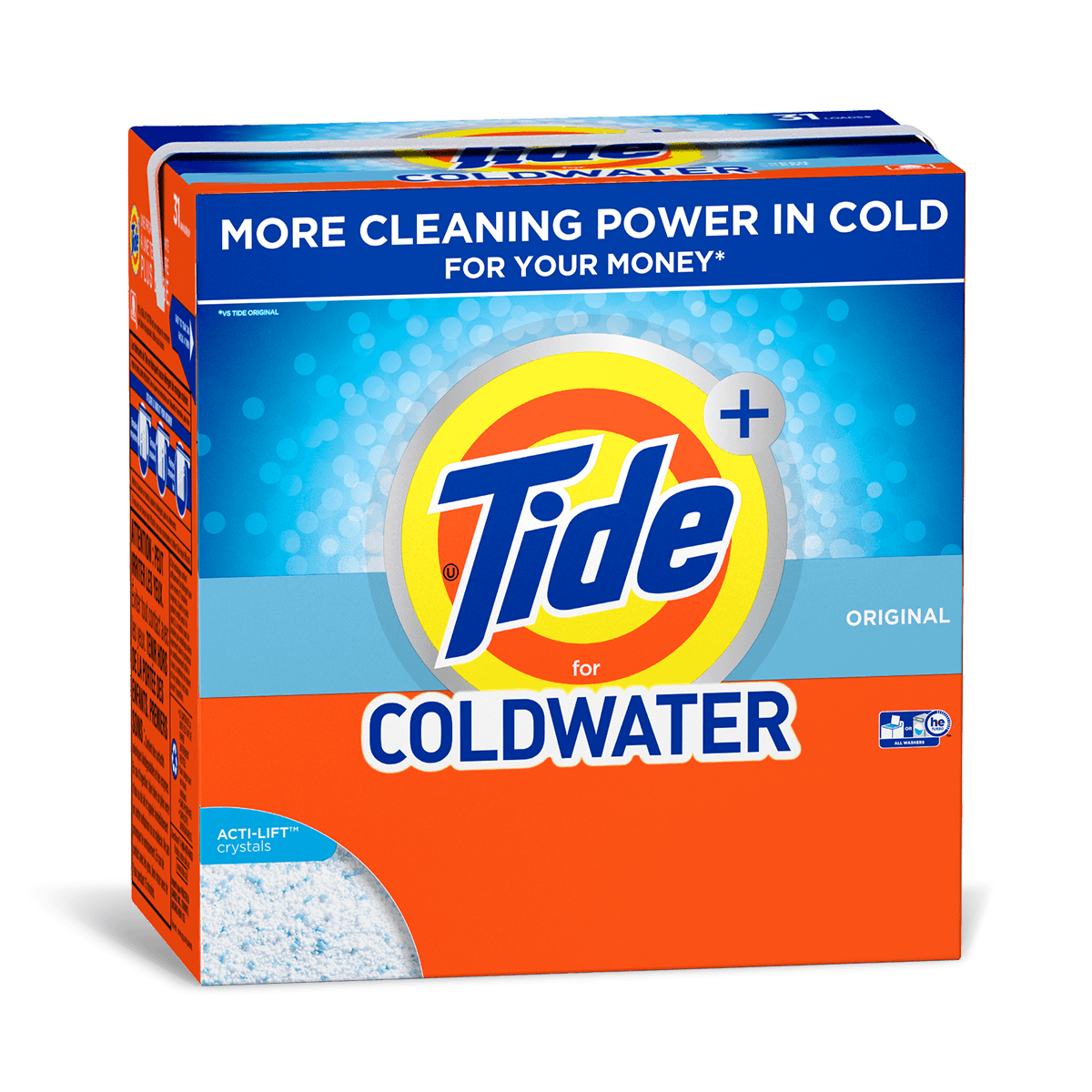 Tide Coldwater HE Turbo Powder Detergent