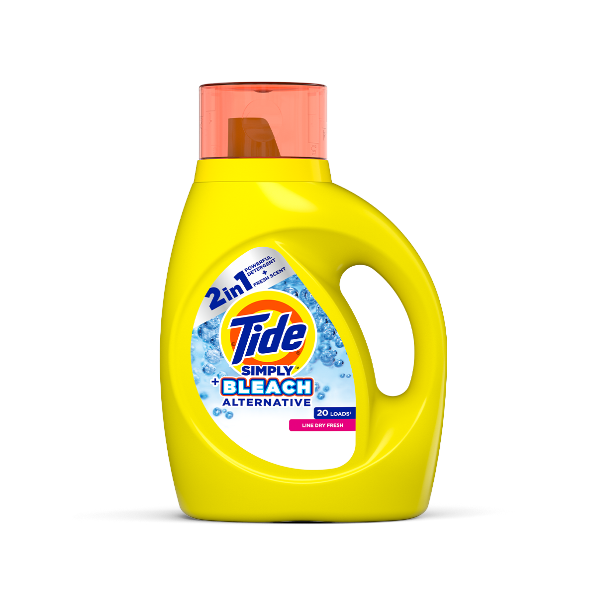 Tide Simply Plus Bleach Alternative Liquid Laundry Detergent